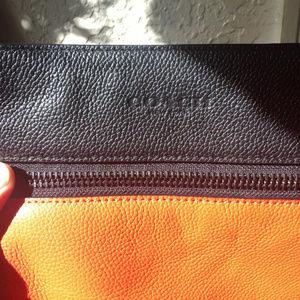 Gorgeous Reddish-Orange COACH Messenger Bag